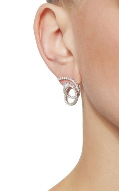 M-Pulse Collection Earrings by YEPREM for Preorder on Moda Operandi