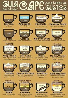 Para esos días fríos prepara un delicioso café ¡Hay muchas formas de hacerlo!