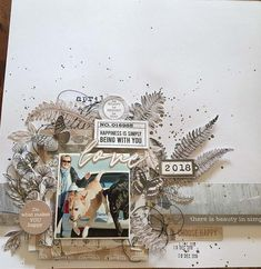 Scrapbook Layouts, Scrapbooking, General Crafts, Project Life, Whisper, Are You Happy, Mixed Media, Paper Crafts, Place Card Holders