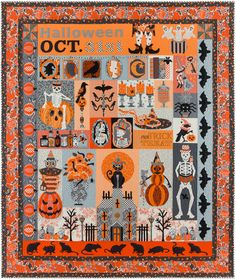 This new block of the month program Midnight Potions starts September This is a halloween quilt that you will treasure for years to come! Designed by Verna Mosquera of Vintage Spool Designs using fabrics from the Candelabra Collection. Halloween Quilts, Halloween Quilt Patterns, Halloween Sewing, Halloween Crafts, Halloween Decorations, Spooky Halloween, Halloween Fabric, Halloween Blocks, Halloween Applique