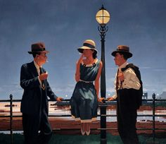 after the thrill is gone jack vettriano - Google Search