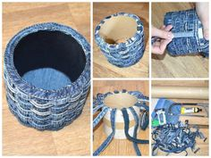 How to make a cup of brutal jeans