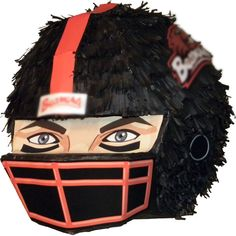 I would make this a Seahawks Pinata for decoration & would put the Birthday persons pictures in the helmet..Football Helmet Pinata
