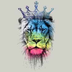 The last king by clingcling. The last king by clingcling. Lions Photos, Lion Pictures, Craft Images, Body Art Tattoos, Tatoos, Lion Art, King Of Kings, Beautiful Landscapes, Concept Art
