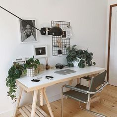 Guest Room Office, Home Office Space, Home Office Design, Home Office Decor, New Living Room, New Room, Living Room Decor, Workspace Inspiration, Room Inspiration