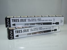 NYX Tres Jolie Gel Pencil Liner Review and Swatches