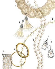 Classic pearl jewelry