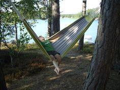 Hammocks. Sweet summer days. This one's from Nanne in Helsinki.