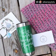 #Repost @silkensoytofu with @get_repost ・・・ I took these the other day with my Nikon. It always takes me forever to get things off.  I'm definitely using the mug every day! Totally helps keep my coffee warm for when I don't get to it. And I've worn the cowl several times! Though, it's gotten warm all of a sudden.  #roscoefarmsc #princeandbee #coffee #cowl #jewlery.  #Regram via @roscoefarmsc (scheduled via http://www.tailwindapp.com?utm_source=pinterest&utm_medium=twpin)