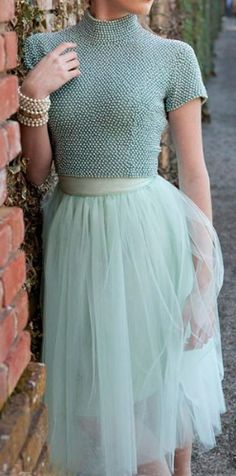 mint tulle skirt  http://rstyle.me/n/ieiy2pdpe