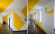 Anamorphic Illusions by Felice Varini   DeMilked