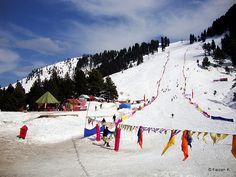 Malam Jabba - Ski Resort at Swat Snow Festival 2012