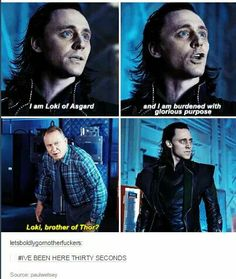 Loki can't catch a break even in another world :(