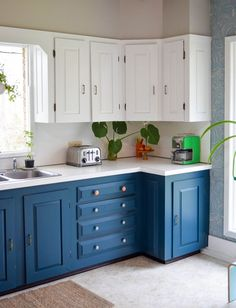531 best Painted Cabinets images on Pinterest in 2018   Paint colors ...