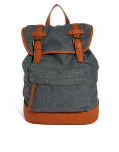 ASOS | ASOS Backpack With Front Pocket at ASOS