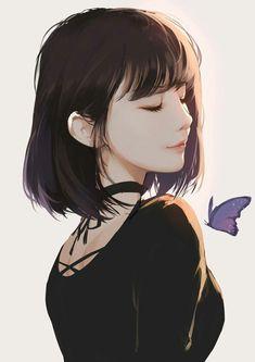 Digital Art Anime Girl