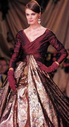 Vintage Dior by Gianfranco Ferre. Paris.