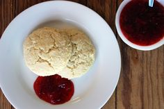 Baking-Powder Biscuits With Quick Strawberry Jam Recipe — Dishmaps