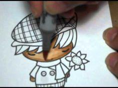 "Copic Coloring Tutorial #3 - TGF ""My Guy Ian"" - YouTube"