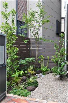 Indoor Vertical Gardening Tips and Ideas Organic gardening isn't always about food to eat. Japanese Garden Backyard, Small Japanese Garden, Japan Garden, Japanese Garden Design, Modern Landscaping, Front Yard Landscaping, Back Gardens, Small Gardens, Indoor Gardening Supplies