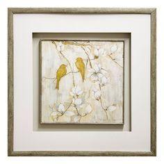 Song of Spring I Framed Wall Art, Gold