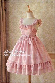 DC Pink Lable summer sleeveless strap Jinping sugar group JSK- multicolor into Lolita- Taobao