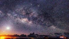 """Shared by jeffkenipulver #astrophotography #contratahotel (o) http://ift.tt/1TiER17""""Milky Way Rising"""" (taken at 6:17 AM on Feb 7)  I am grateful I was able to capture this """"Rising Milky Way"""" moment. The bright white dot in the left side is Venus and the tiny dot to the lower left of Venus is Mercury.  #stars #nature #galaxy  #universe #ouruniverse #astronomy #nightsky #energy #spiritjunkie #livelifenow #soul #venus  #heavens #nighttime #milkyway #venus  #universetoday #heavens…"""