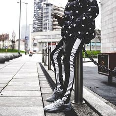 Retro Pants // Black/White // Available now at @longlineclothingstore https://ift.tt/2gsb5sd