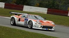 Ford GT 2009 24h Nürburgring Hermann Tilke / Dirk Adorf / Marc Hennerici / Thomas Mutsch #motorsport #racing #touring #car #motor #passion #sport #gt #nordschleife #greenhell #grünehölle