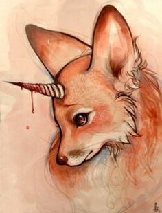 Foxicorn ~ Lindsay Campbell