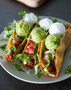 Chicken Fried Tacos by EclecticRecipes.com #recipe