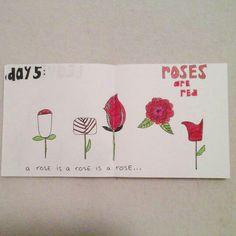 Day 5: roses #sketchbook #creativebug #lisacongdon