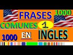 200 palabras importantes en inglés y su significado en español con pronunciación [Vocabulario 2] - YouTube English Letter, How To Pronounce, American English, Spanish Language, English Vocabulary, Learn English, Youtube, Videos, Esl