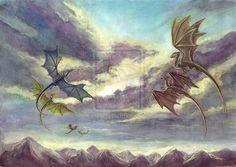 DragonRiders of Pern by Daria Nikiforova [©2013]
