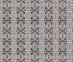 Lacy Log Bugs  (Ref. 4271) fabric by rhondadesigns on Spoonflower - custom fabric