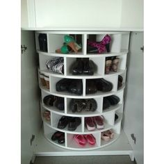 Lazy Susan for Shoes!