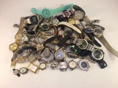 Watch Lot For Parts Or Repair Men's And Women's Watches-Fossil-Arimitron