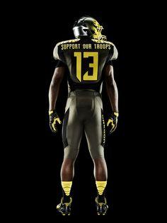 Nike uniforms for Oregon Ducks spring football game 2013 (photos)  9d2615884