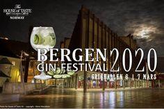 Bergen, 7 Mars, Plymouth, Gin, Norway, London, London England, Jin