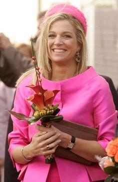 Princess Máxima, April 30, 2008