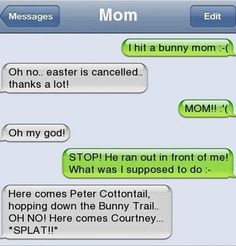 Our generation is probably the last one that has to deal with these weird texts we get from our parents. Description from likealaugh.org. I searched for this on bing.com/images