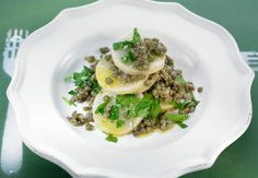 Salade de lentilles vertes et navet confitVoir la recette de la Salade de lentilles vertes et navet confit >>