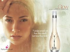 Glow is the first fragrance by Jennifer Lopez. The fragrance was meant to target women in their late teens and early 20s and it became very popular breaking numerous records in sales which inspired other celebreties to launch their own signature fragrances. Notes are: neroli, pink grapefruit, rose, sandalwood, amber, musk, jasmine, iris and vanilla.