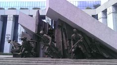 Monumento al alzamiento de 1944 durante la WWII (Varsovia) Wwii, Warsaw, World War Ii