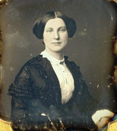 "Gorgeous 1 6 Daguerreotype ""Tinted Beauty"" by C H Willamson in Full Case 