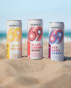 Monaco 69 Vodka Seltzer has 69 calories, no sugar, no carbs, and no compromise in taste or quality. We use only natural ingredients and no sweeteners to satisfy your desire to live pure. Juice Packaging, Coffee Packaging, Bottle Packaging, Low Calorie Vodka, Label Design, Package Design, Design Design, Graphic Design, Food Packaging Design