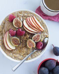 Red lentil power porridge recipe in 2019 eat // wfpb vegan r Health Breakfast, Vegan Breakfast Recipes, Delicious Vegan Recipes, Best Breakfast, Breakfast Ideas, Vegetarian Recipes, Breakfast Fruit, Breakfast Healthy, Healthy Recipes