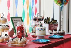 Love and Whimsy: Mustache Birthday Party