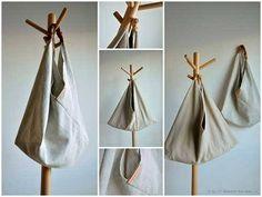 Free Bag Pattern - Triangular Bag