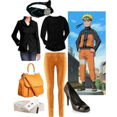 Naruto Usumaki Shipudden, created by catloverd on Polyvore